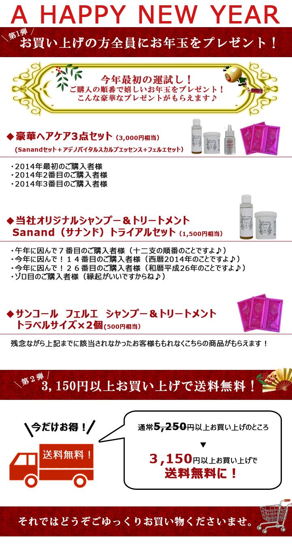 お年玉&3150円以上で送料無料です!